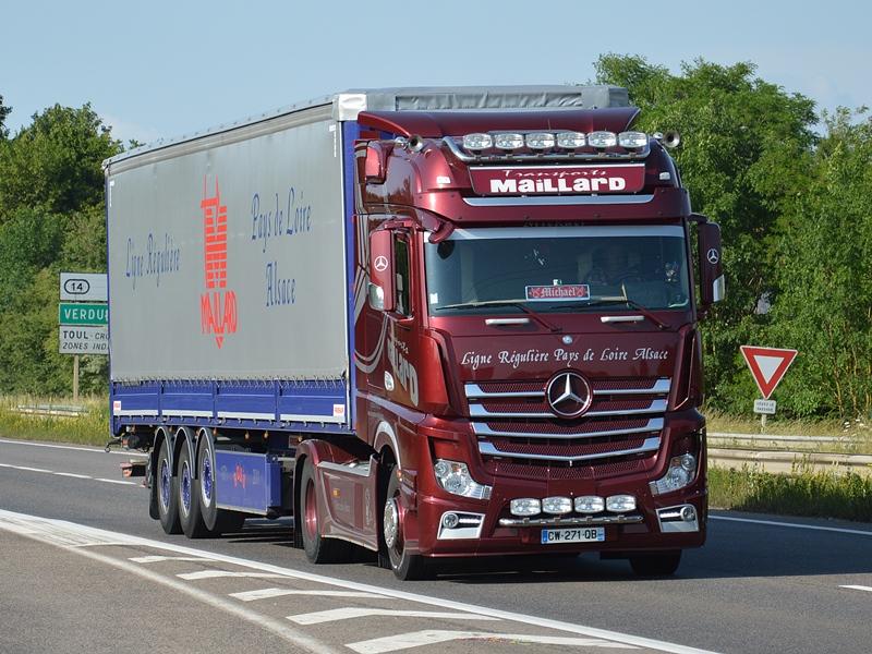 Maillard Transports Truck Spotters Eu